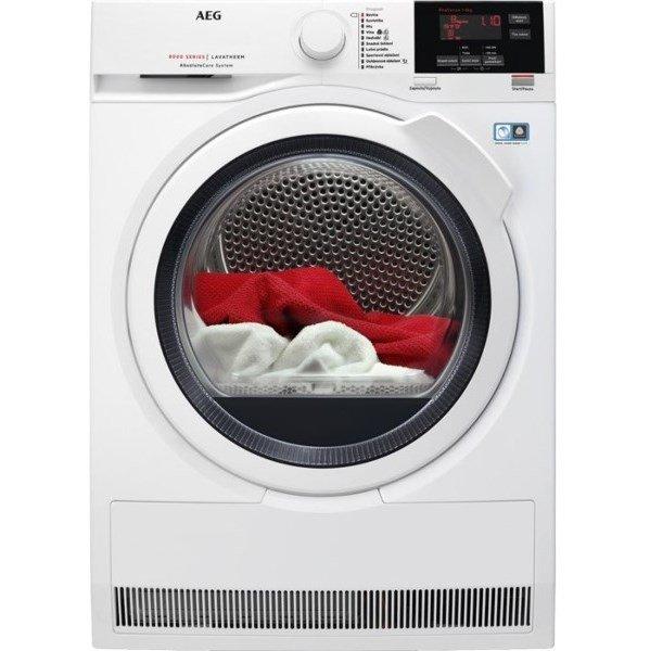 18cc1fd2b8f AEG Sušička prádla AbsoluteCare® T8DBG48WC